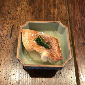 赤魚の塩麹煮